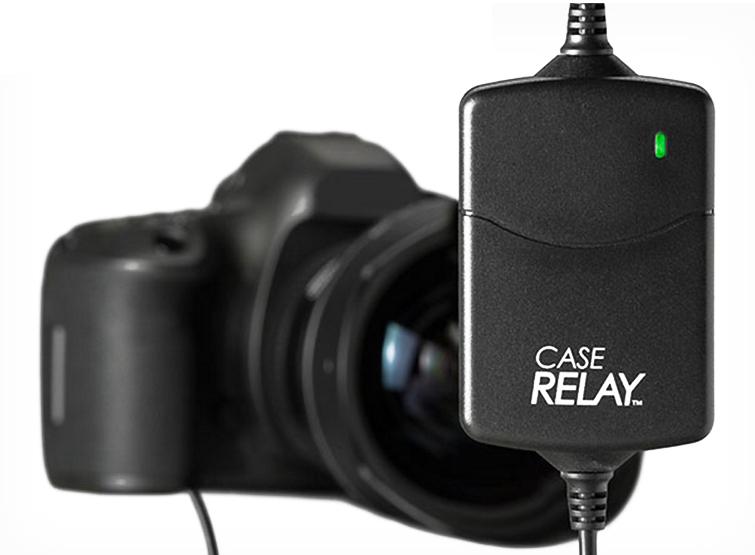 呈現攝影-CASE Relay數位相機不斷電供電器組7.4V內建電池1200mAh 5V行動電源假電池縮時錄影