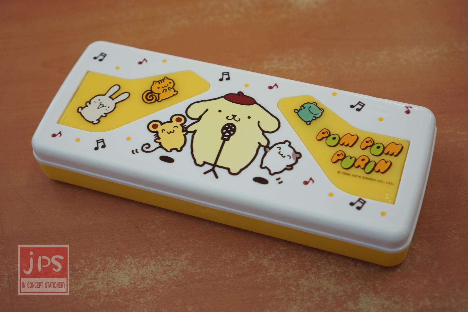 布丁狗 看書架塑膠筆盒 (唱歌)