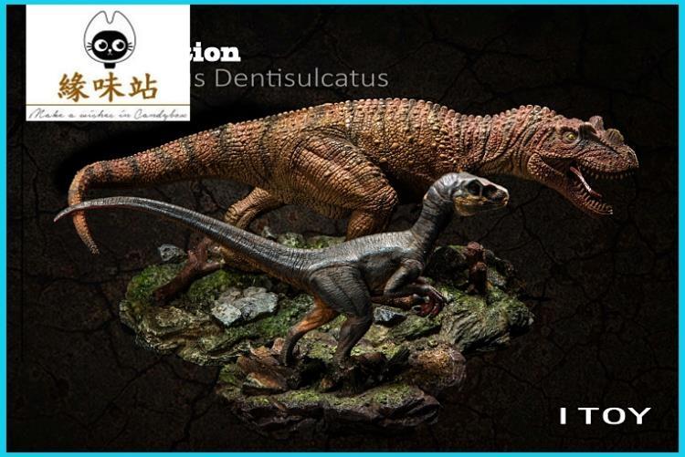 美國原版ITOY侏羅紀世界恐龍雕像新品角鼻龍現貨緣味站YWZ-134174