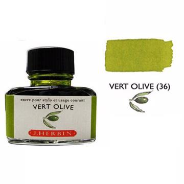 J. Herbin珍珠彩墨草原綠 Vert Pre