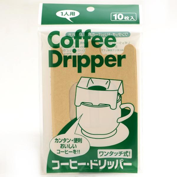 日本製AN無漂白濾掛式咖啡濾紙1人份10入