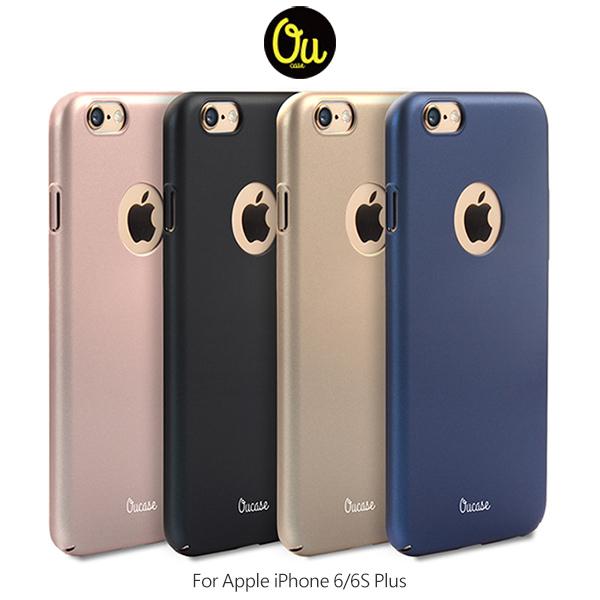 愛瘋潮Oucase Apple iPhone 6 Plus 6S Plus簡風膚感PC殼保護殼背殼硬殼手機殼