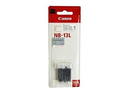 立即出貨 晶豪野 Canon NB-13L 原廠鋰電池 原廠盒裝 NB13 L ★ 適用於Canon G7X 台灣佳能公司貨