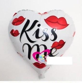 KISS ME(F22)18吋鋁箔氣球(未充氣)~~求婚道具/婚禮 會場 耶誕節 尾牙佈置
