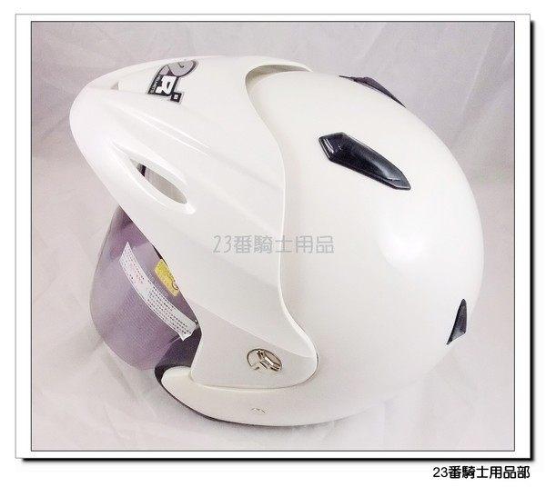 M2R SP 333紀念版素色白3 4罩安全帽內襯全可拆免運費