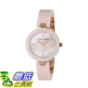 2015限量促銷款美國直購施華洛世奇水晶Anne Klein Women's AK 1314RGLP Watch 4319