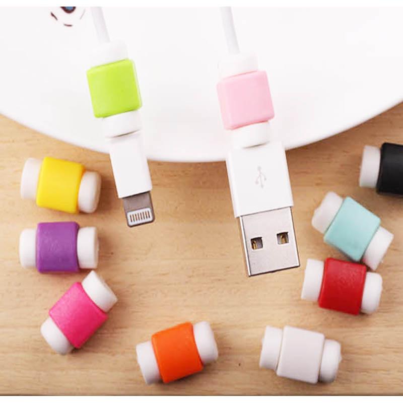 《耀升》i線套 彩色馬卡龍 保護線套 iphone i5 5s i5se i6 iphone 6 plus 充電線 防斷裂 保護套 充電線套