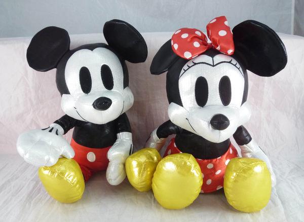震撼精品百貨Micky Mouse米奇米妮~娃娃-銀共2款