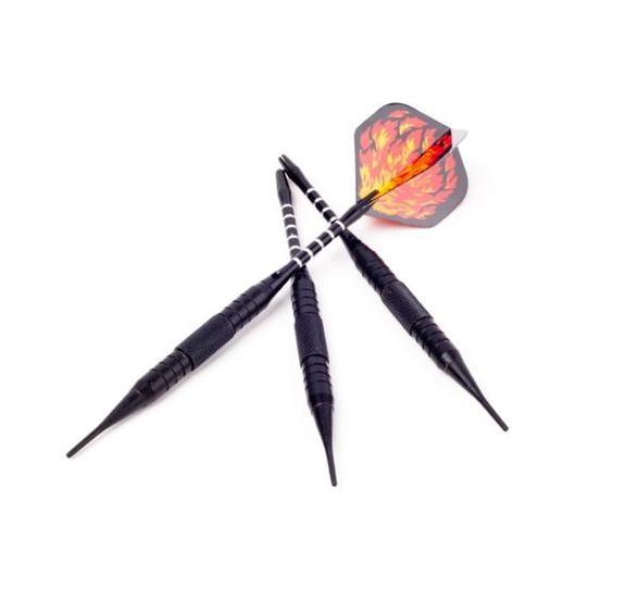 【滿額免運費】【電子飛鏢機專用】急速火焰.電子專業比賽軟式16克飛鏢