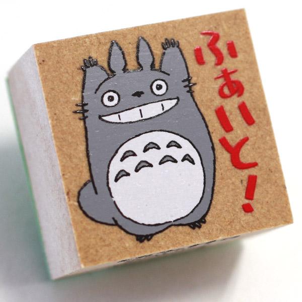 ❤Hamee 日本 吉卜力 宮崎駿 龍貓 TOTORO 豆豆龍 人物造型木製印章(跳高高) 177-121466