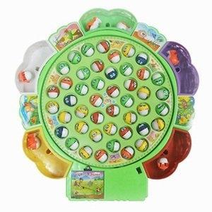 大型音樂電動釣魚組 (45隻魚 5支釣竿)釣魚【親子同樂 團康活動 益智玩具 手眼協調 感覺統合