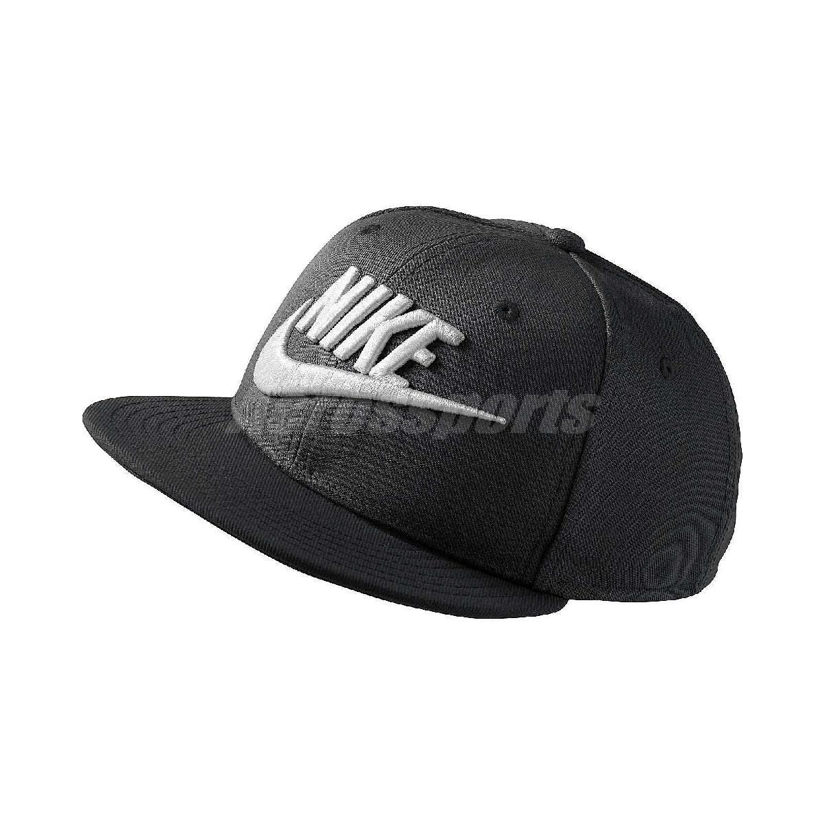 Nike 帽子 True Cap Futura 基本款 黑 白 男女款 可調式 棒球帽 【PUMP306】 614590-010