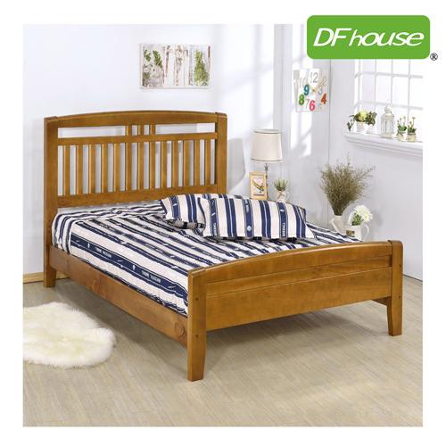 DFhouse潘朵拉3.5尺實木單人床-單人床雙人床床架床組實木涼夏床臥室居家生活起居透氣