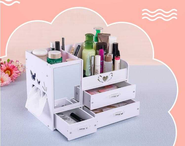 首飾盒冠歐式韓國公主首飾盒復古珠寶收納盒飾品盒潮咖地帶