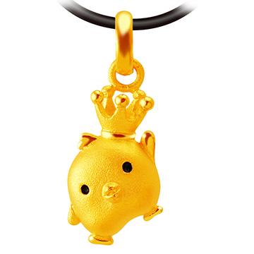 甜蜜約定金飾-王國之星-黃金墜子  開運金飾 生肖  招財 開運