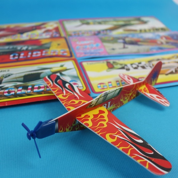 DIY保麗龍飛機 261086 滑翔飛機(小紙袋裝)/一袋10個入{促10}~YF13163