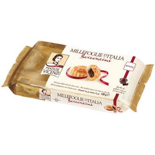 維西尼巧克力夾心酥餅125g愛買