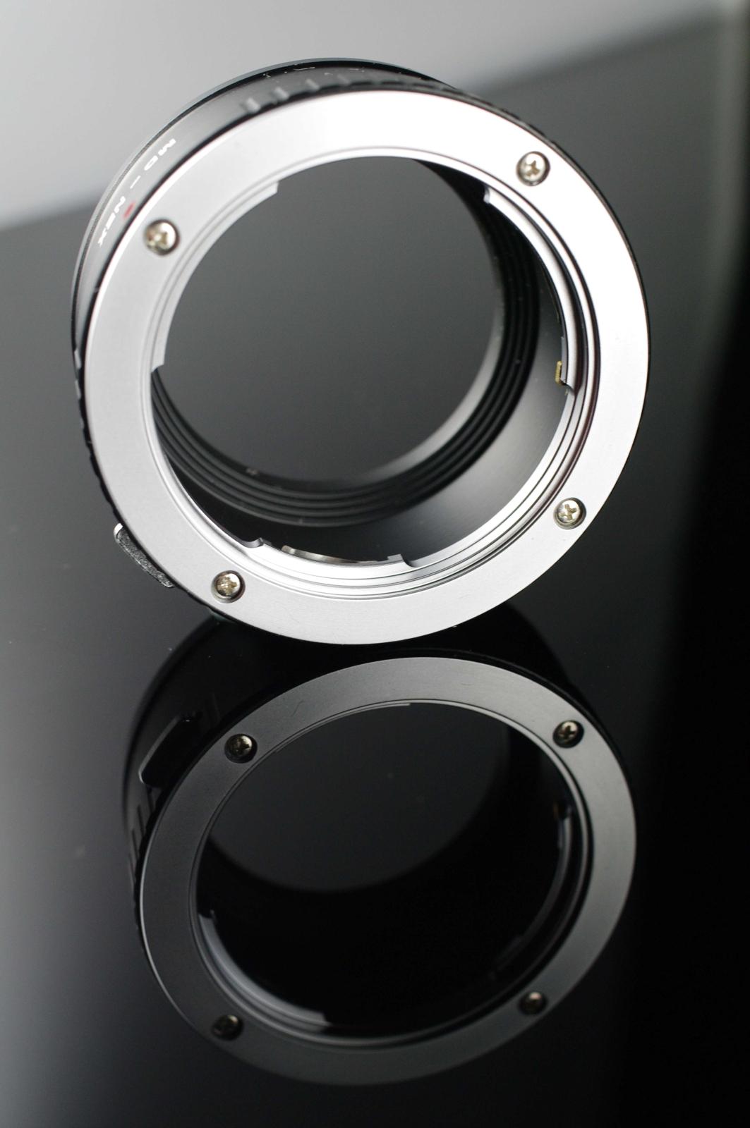 我愛買#外貿精品Minolta MD轉NEX轉接環(MD/MC/SR鏡頭轉接到SONY E-MOUNT機身)MD-NEX轉接環MD-E