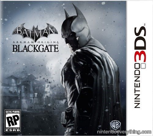 3DS Batman: Arkham Origins Blackgate 蝙蝠俠:阿卡漢始源 黑門(美版代購)