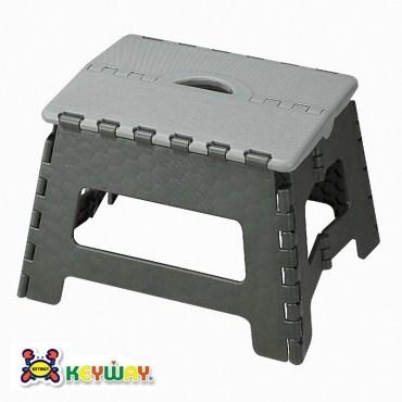 KEYWAY休閒摺合椅灰色款PP-0116 34x27.2x22.9cm