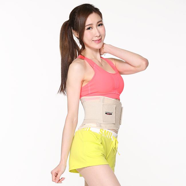 【Body Action洛克馬】Perfect Belt 六秒爆汗腰塑帶 (膚單件 S號)