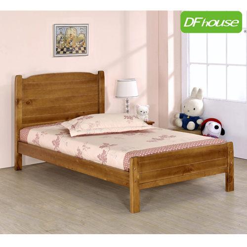 DFhouse涼夏3.5尺實木單人床-單人床雙人床床架床組實木涼夏床臥室居家生活起居透氣