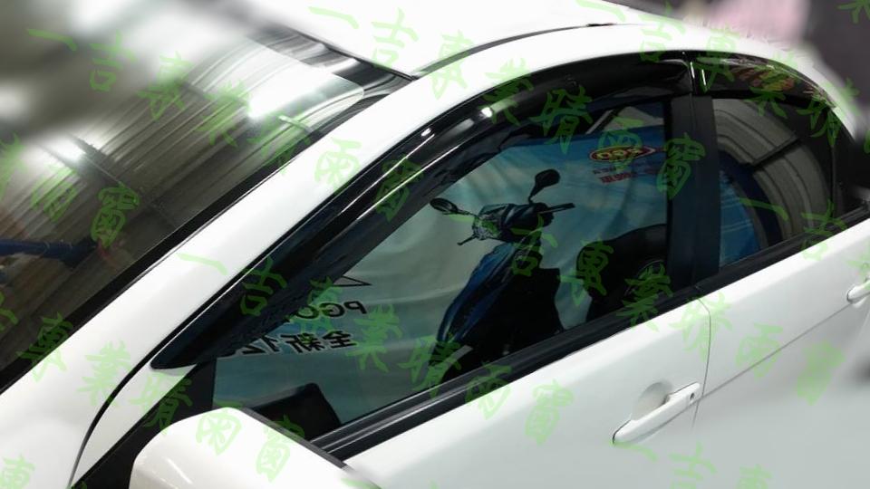 【一吉】07-16年 Lancer Fortis / io (前兩窗) 原廠型 晴雨窗/台灣製造 / lancer晴雨窗,fortis 晴雨窗