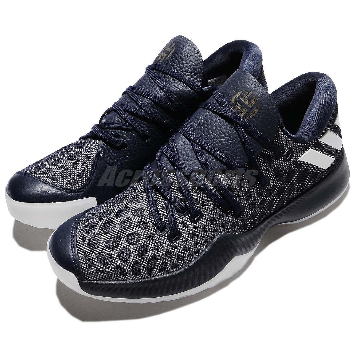 adidas 籃球鞋 Harden B/E 藍 白 平民版 低筒 舒適緩震 運動鞋 男鞋【PUMP306】 CG4195
