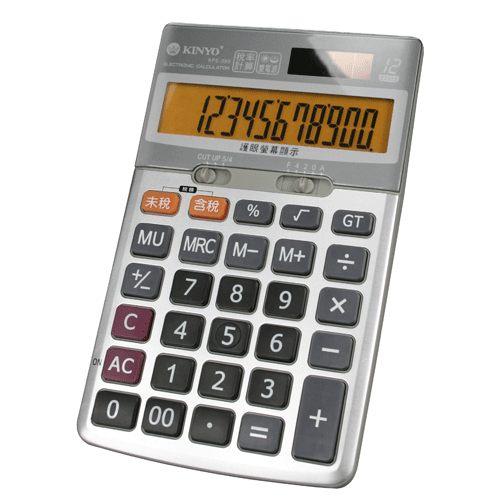 鉦泰生活館桌上型稅率計算機KPE-589