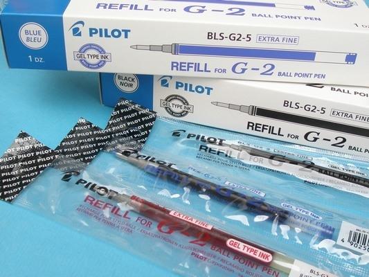 百樂BLS-G-2中性筆蕊.替芯0.5mm 0.7mm/一支入{定32}