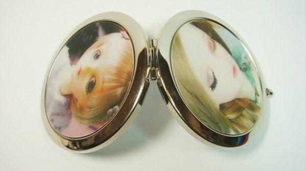 雙面鏡圓形3D立體娃娃圖案型二