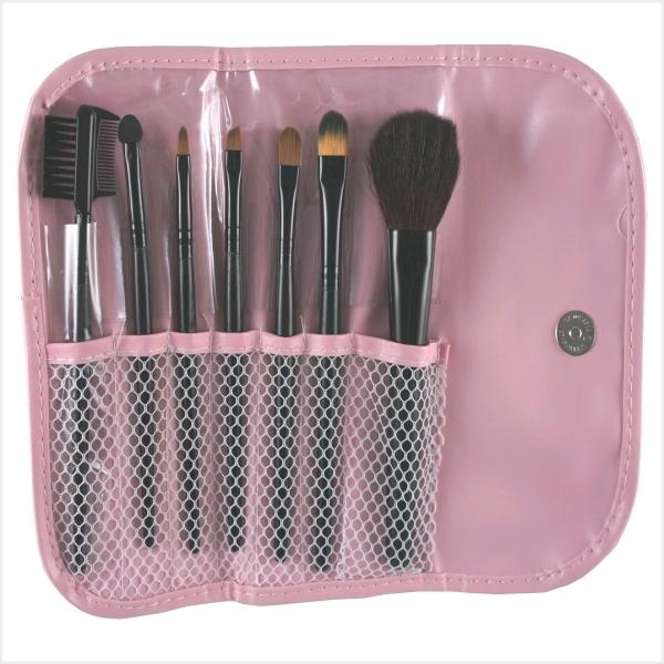 MEKO小資時尚MEKO彩妝7件組化妝包B-077化妝刷套組隨身組化妝刷MEKO美妝屋