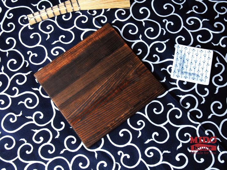 原木生活-松木木墊杯墊.隔熱墊-14cm