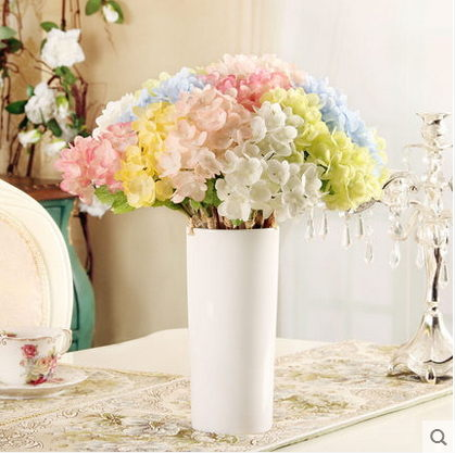 F0805清新簡約瓶花器擺設歐式家居客廳桌面裝飾品繡球花套裝1套