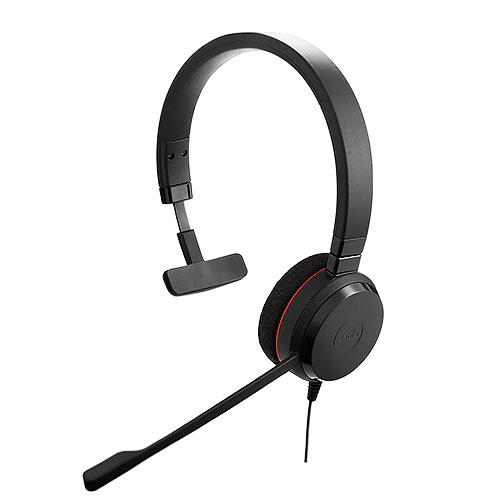 Jabra 捷波朗 EVOLVE 20 MS Mono 單耳 頭戴式耳機