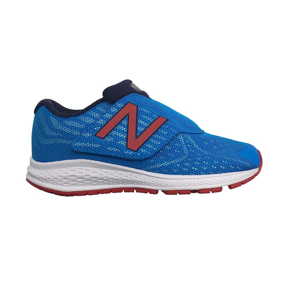 New Balance中童鞋深藍紅男女童鞋寬楦復古慢跑鞋休閒鞋NB 996 K313BRP