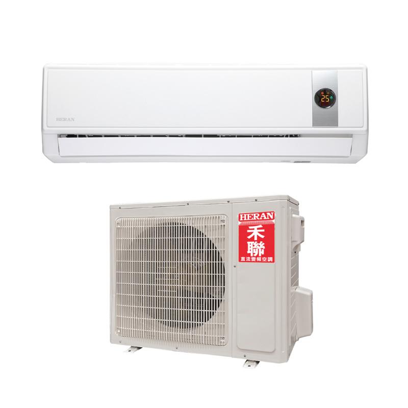 0利率HERAN禾聯*約8坪*一對一分離式變頻冷氣機HI-GP50 HO-GP50南霸天電器百貨