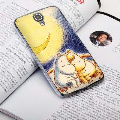 機殼喵喵三星Samsung i9500 Galaxy S4手機殼客製化照片外殼全彩工藝SZ224嚕嚕米
