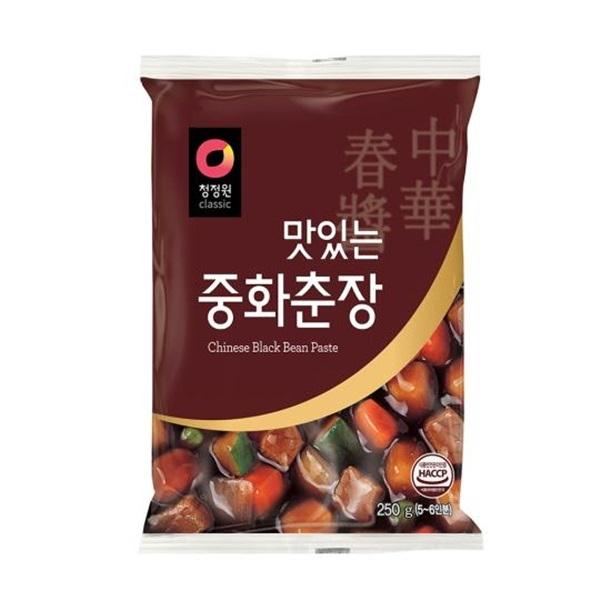 韓國順昌炸醬黑麵醬甜麵醬250g韓國知名大品牌