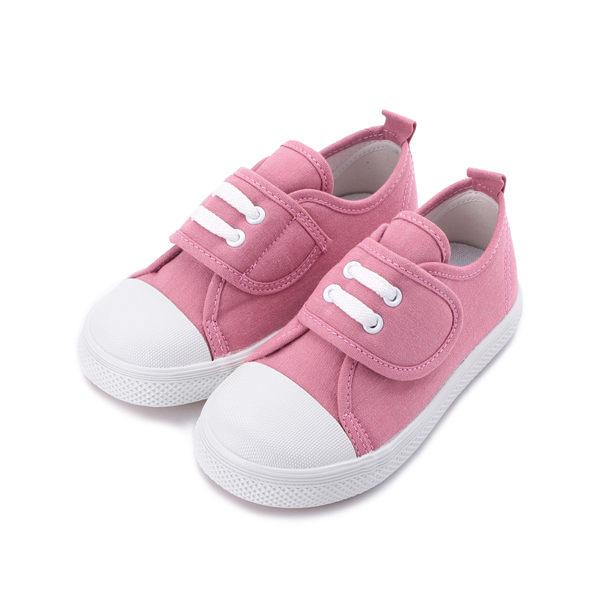 GIOVANNI VALENTINO 水洗帆布寶寶鞋 粉 中小童鞋 鞋全家福
