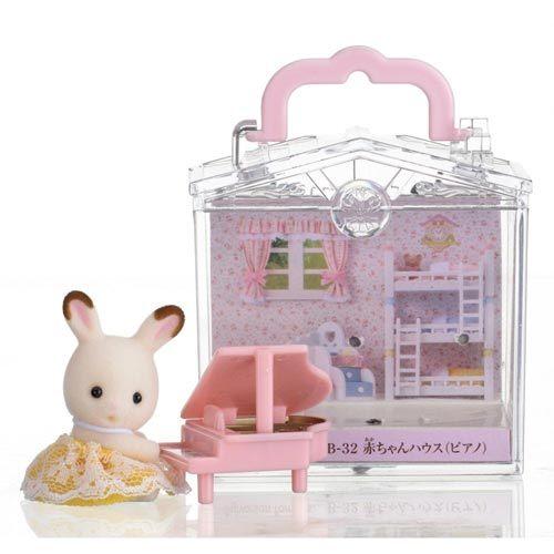 森林家族嬰兒鋼琴提盒EP27860