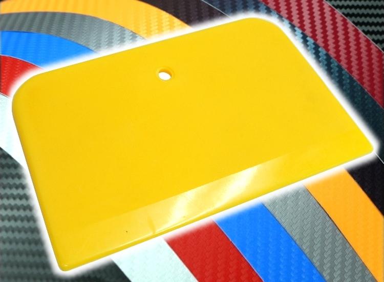 洪氏雜貨梯形刮板黃單入279A021貼膜刮刀貼膜工具刮刀刮板牛津橡膠刮板