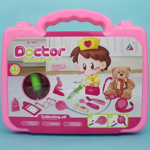 手提醫生組HJ065護士醫生遊戲玩具組手提箱一個入促199睿HJ065