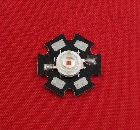diy led燈珠 批發館100入起定每入27 1W黃光 LED,大功率 led,發光二極管 40lm