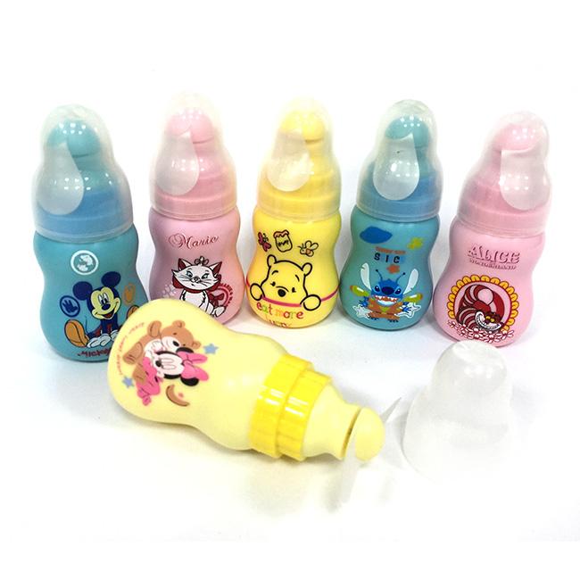 里和Riho迪士尼奶瓶造型隨手風扇米奇米妮史迪奇咧嘴貓小熊維尼瑪麗貓