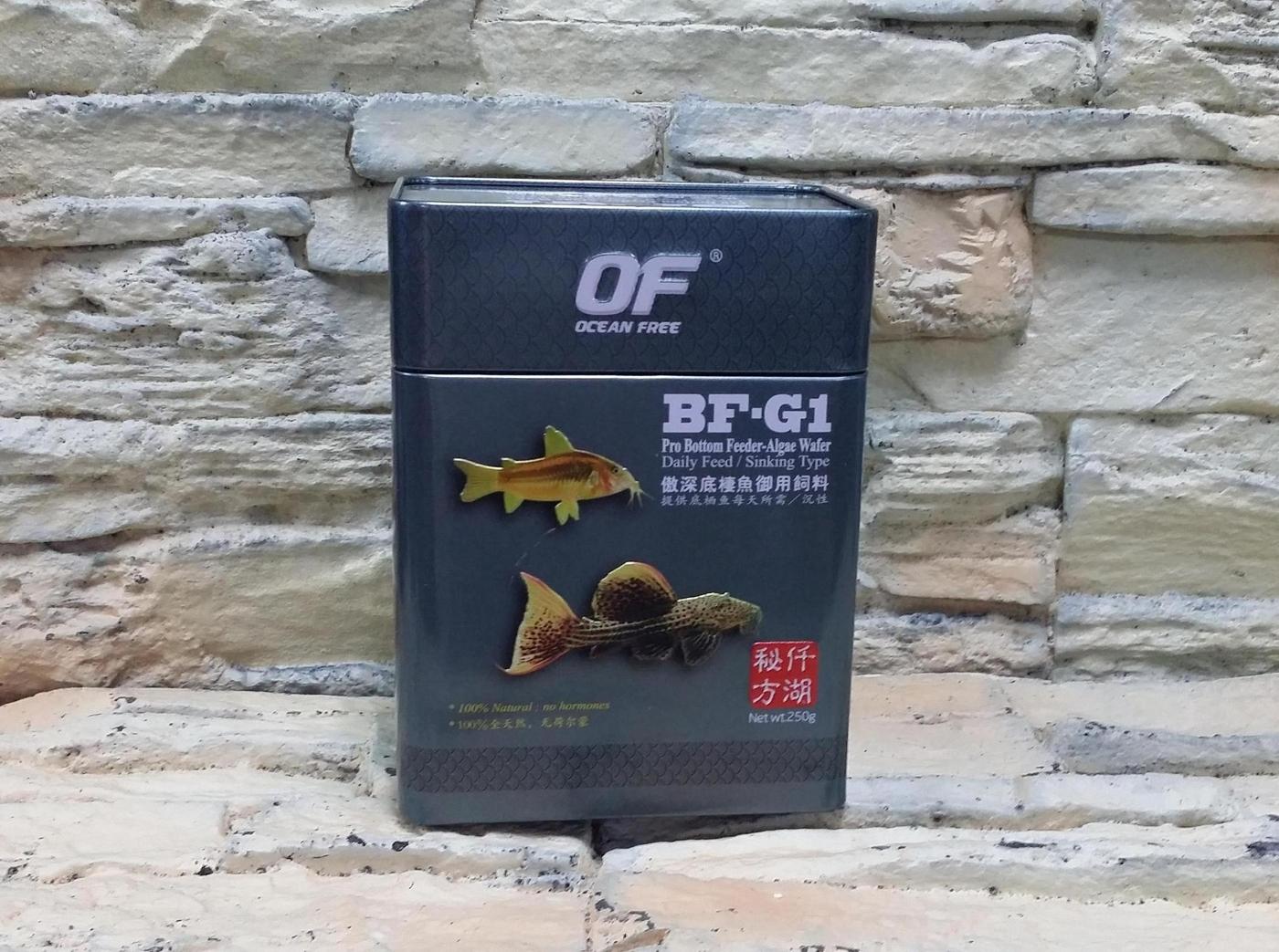 西高地水族坊新加坡仟湖秘方傲深底棲魚御用飼料60g-大顆粒