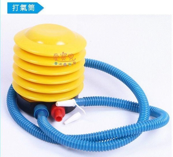 ◎愛寳貝◎A124518攜帶型充氣玩具打氣筒/充氣桶/幫浦/泳圈 脖圈 腋下圈/手壓式/腳踏式打氣筒