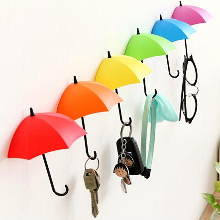 雨傘造型置物架雨傘掛鉤3入組