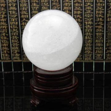 白水晶球10cm