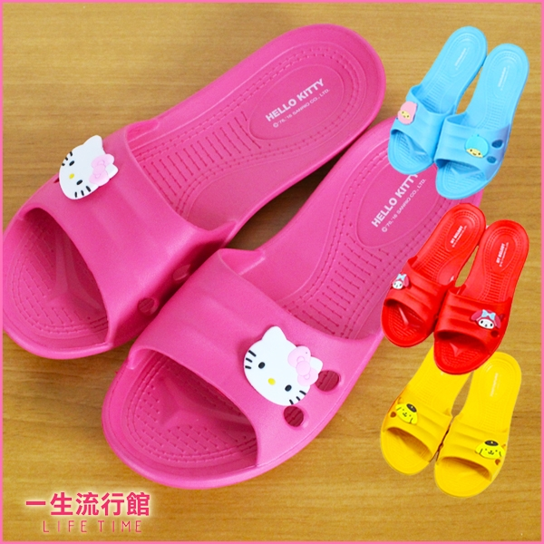Hello Kitty 凱蒂貓 正版 防滑 浴室拖鞋 卡通 室內拖鞋 女鞋 療癒拖鞋 B21619